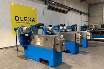 Currently in our factory : 3 MBU75 presses destined for Micronesia